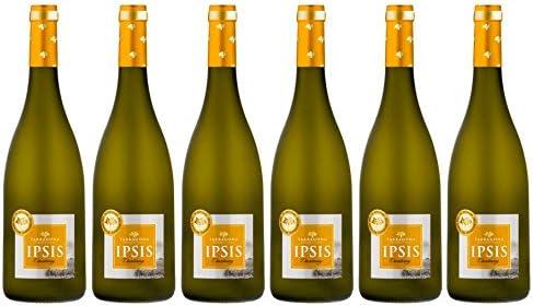 IPSIS CHARDONNAY Vino BLANCO - D.O. TARRAGONA (Caja 6 botellas 75 ...