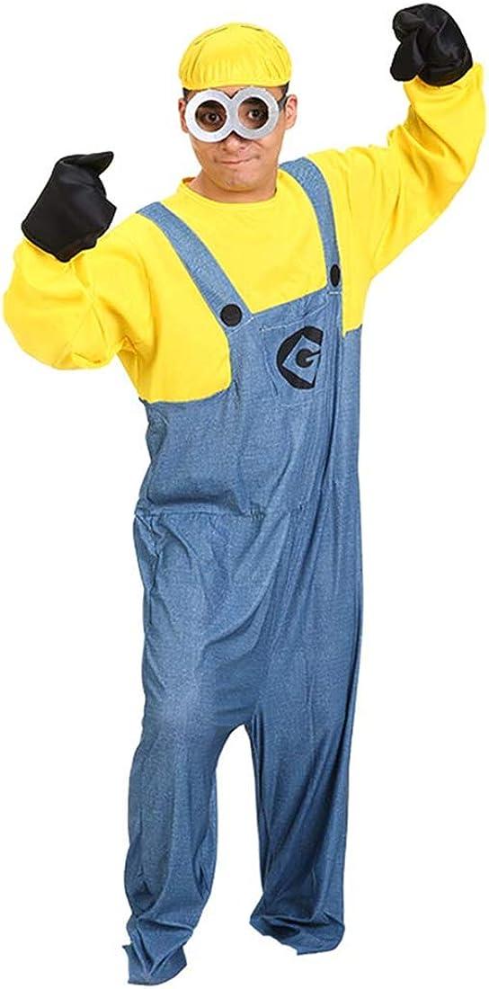 Mitef Mi Villano Favorito Yellow Men Costume Mini Corps Halloween ...