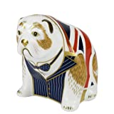Royal Crown Derby Winston Churchill Bulldog Limited Edition Of 500