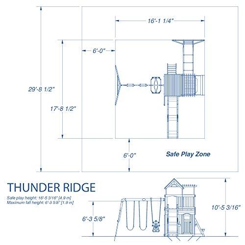 Backyard Thunder All Wood Swing