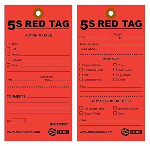 5s red tags - 6