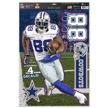 - Wincraft 75161014 NFL Dallas Cowboys Dez Bryant Multi-Use Decal Sheet, 11