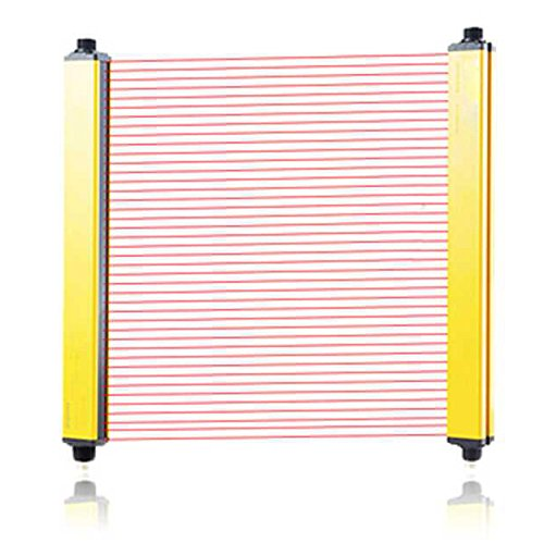 CGOLDENWALL Safety Light Curtains safety protection sensor light screen& beams: 10 &Sensing height: 430mm (Customizable) with controller