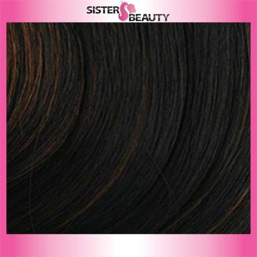 BOBBI BOSS MAXXIM Premium Human Hair Blend Wig ZIVA MB400 (#FS1B/30)