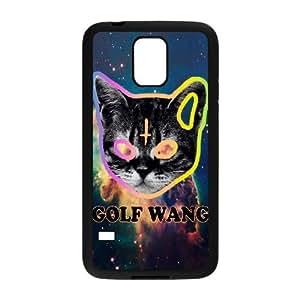 Wlicke OFWGKTA DIY Durable samsung galaxy s5 i9600 Case, Unique Design Protective Phone Case for samsung galaxy s5 i9600 with OFWGKTA