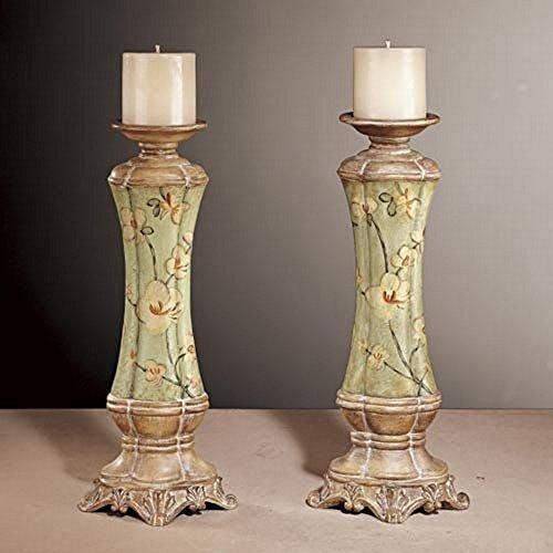 Minka Lavery Candle - Minka Lavery 42223-0 Accessory - Candle Holder (Set of 2), Adalia Finish