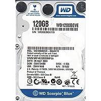 WD1200BEVE-00A0HT0, DCM DANT2HBB, Western Digital 120GB IDE 2.5 Hard Drive