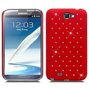Samsung Galaxy Note II 2 Bling Gem Jeweled Jewel Crystal Diamond Cover Case