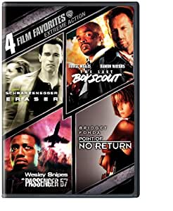 4 Film Favorites: Extreme Action (Eraser, The Last Boy Scout, Passenger 57, Point of No Return)