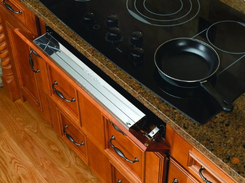 Rev-A-Shelf 6581-25-5 Stainless Steel 6581 6581 Series 20 Count 25'' Stainless Steel Sink Front Tip-Out Trays 6581-25-5