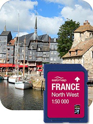Satmap GPS System Karte 1 50000 Frankreich  Nordwesten, FR-CY-50-SD-002