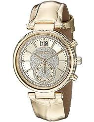 Michael Kors Womens Sawyer Gold-Tone Watch MK2444