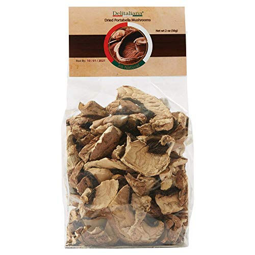 - Dried Portabella Mushrooms 2 Ounce