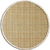 籐巻盆ざる丸シヤク0寸 11-213