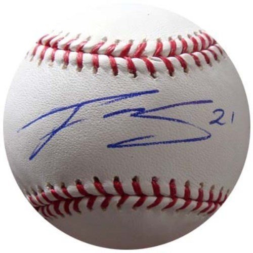 Franklin Gutierrez Signed Rawlings Official Major League Baseball Seattle Mariners - Autographed MLB Baseballs