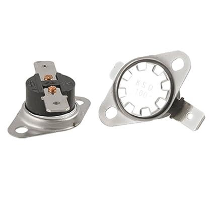 Control de la temperatura y termostato KSD Series 100 Celsius N.C 2 piezas