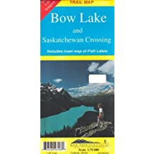 Bow Lake & Saskatchewan Crossing (Recreational Map) by Gem Trek Publishing (2001-08-03)