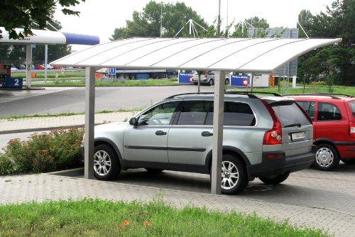 XIMAX Aluminium Design-Carport Portoforte Standard-Ausführung Typ 80 ...