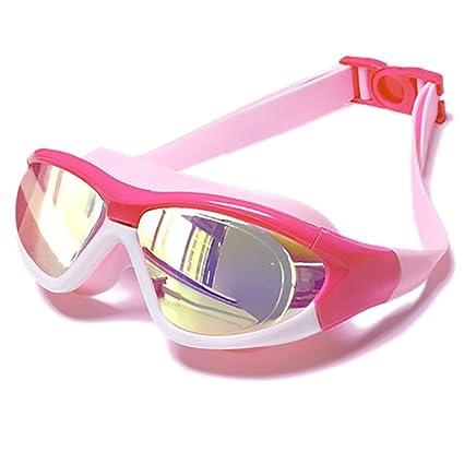 Swimming goggles Gafas de Niebla Impermeables para niños - Boy and Girl HD Chapado en Transparentes