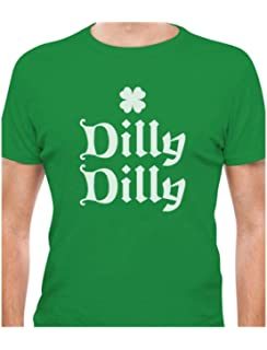 c2240a446ad Amazon.com  Mixtbrand Men s Dilly Dilly St. Patrick s Day   Gold ...