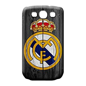 samsung galaxy s3 cell phone carrying skins Fashion Sanp On Scratch-proof Protection Cases Covers real madrid logo