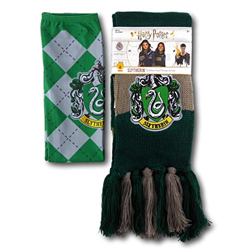 Rubie's Harry Potter House Socks and Scarf Set - Officially Licensed (Slytherin) ()