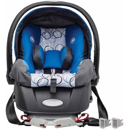 Image of the Evenflo Embrace Select Infant Car Seat with Sure Safe Installation, Ashton