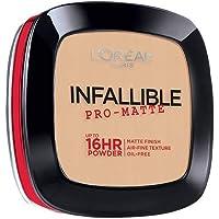 L'Oreal Paris Infallible Pro-matte Powder Foundation, Porcelain (# 100), 6g