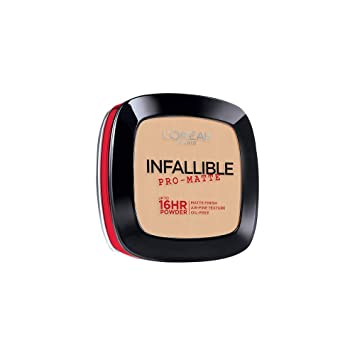 L'Oréal Paris Makeup Infallible Pro-Matte Powder, lightweight pressed face powder,