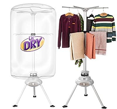 Dr Dry Portable Clothing Dryer 1000W Heater