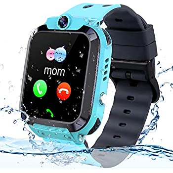 Amazon.com: AGPS Waterproof Kids Smart Watch for Students ...