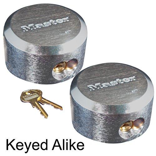 Master Lock - Hidden Shackle Locks Keyed Alike New #6271KA-2 ()