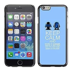 ka ka case unique design personality And Dance Purple Band Music - iPhone 6 Plus 5.5