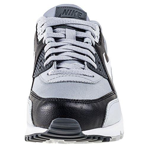 Nike Herren Air Max 90 Essential Laufschuh Wolf Grau / Weiß - reines Platin