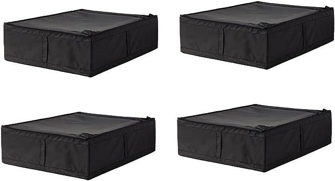 Ikea Skubb Unterbettkommode 4 Stuck B X T X H 45 X 53 X 19 Cm Schwarz Amazon De Baumarkt