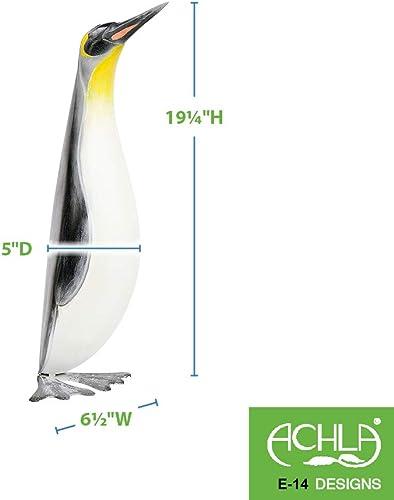 Achla Designs E-14 II Penguin Animal Statue Christmas Garden Outdoor Lawn