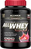 ALLMAX Nutrition AllWhey Gold Whey Protein, Strawberry, 5 lbs