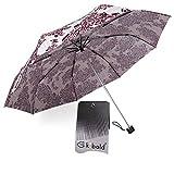 Kobold Travel Umbrella Colorfull Design,Valentine's Gifts Choice,Anti Rain Sun Snow UV
