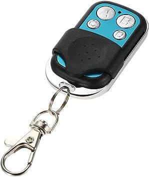 433MHz 4 Button Garage Door Electric Gate Wireless RF Remote Control Orange