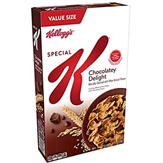 Kellogg's Special K Breakfast Cereal, 18.5 oz, Pack of 8