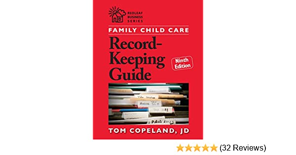 Amazon Family Child Care Record Keeping Guide Ninth Edition