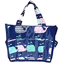 Small Fashion Organizing Tote Bag - 12 Outside Pockets - Personalization Available