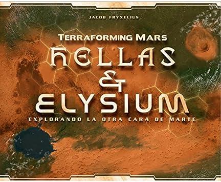 Terraforming Mars - Hellas & Elysium - Expansión: Amazon.es ...