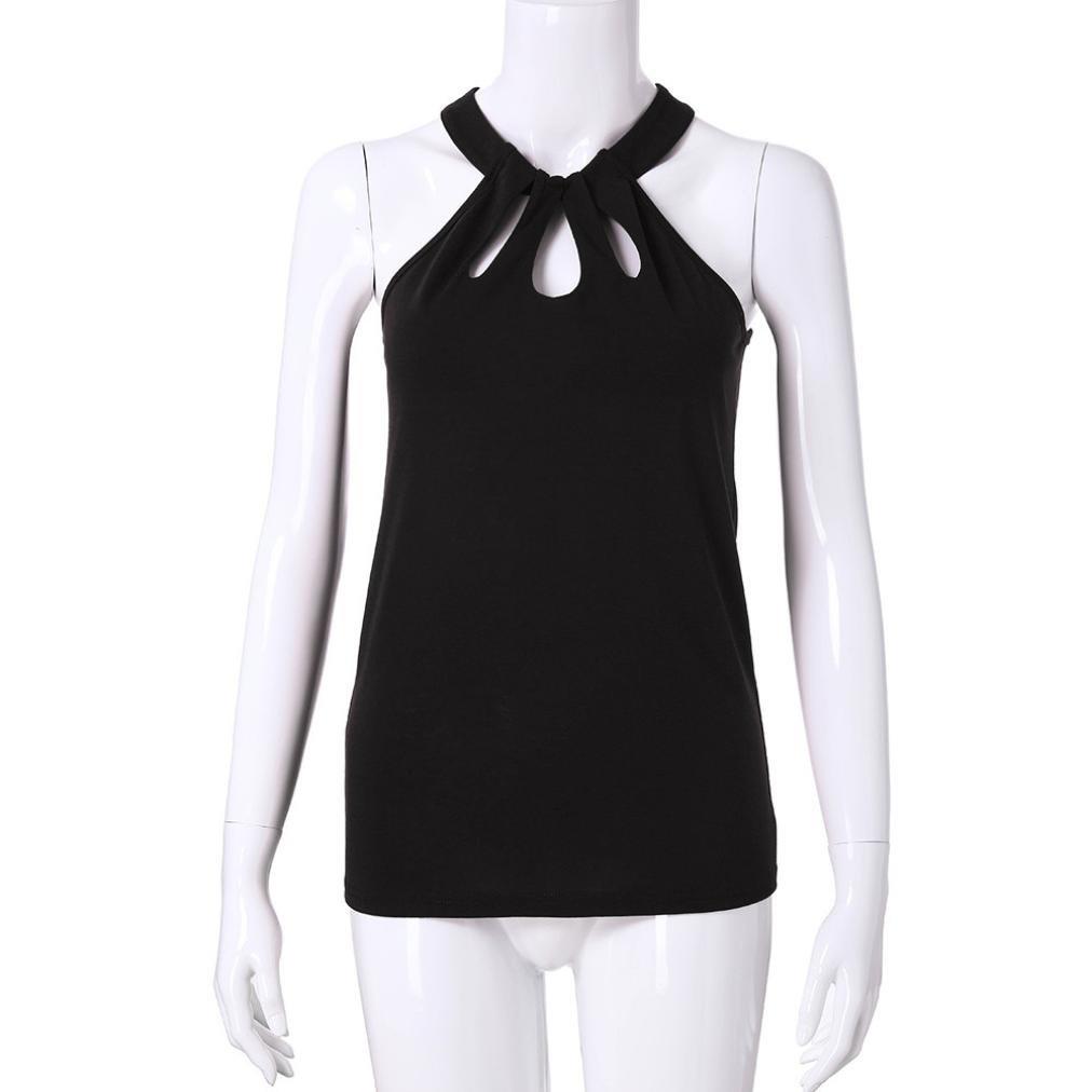 Hubery Women Spaghetti Strap Tank Tops Lace Criss Cross V Neck Flowy Camisole Vests Shirts