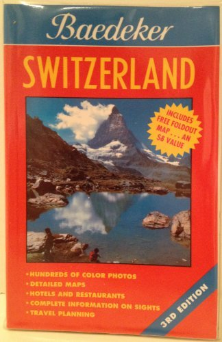 book cover - Baedeker Switzerland (BAEDEKER'S SWITZERLAND) - Printing