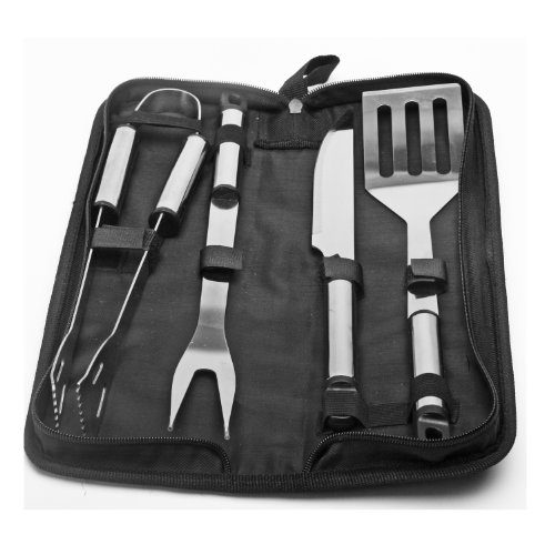 5 Piece Stainless Steel BBQ Grilling Tool (Five Bbq Tools)