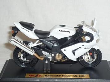 Kawasaki Ninja Zx-10r Zx 10 R Weiss 1//18 Maisto Modellmotorrad Modell Motorrad