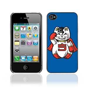 Hard Case or Cover for iPhone 4/4S Funny Lucky Cat Charm Statue batteryase iphone iphone case for teen girls