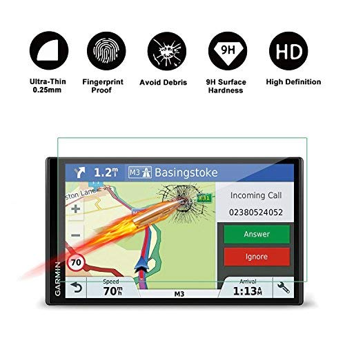 Garmin Drive Smart 61 LMT-S LMT-D 61LMT-D 61LMT-S Garmin RV 770 LMT-S  6 95-Inch Display Navigation Screen Protector, R RUIYA HD Clear Tempered  Glass