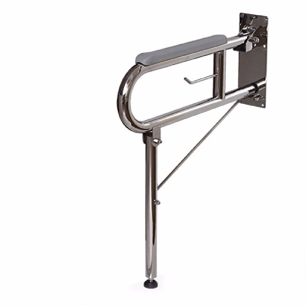 HQLCX Handrail Thickening Barrier Free Handrails For Elderly People Disabled Toilets Toilets Folding Bathroom Nylon Handrails